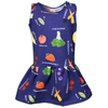 Fruit & Veggies Dress with Fun Educational Vegetables and Fruits