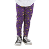 Purple Construction Trucks Leggings