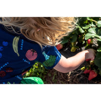 T-Shirt - Fruit & Veggies T-Shirt With Fun Educational Vegetables And Fruits