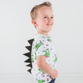 Must Love Dinosaurs Children's Short Sleeve T-Shirt with Spikes