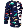 The Dino Roar - Herbivore Jurassic Classic Dinosaur Long Sleeve T-Shirt