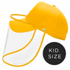 Kids Baseball Cap With Detachable Shield -Sunny Gold - SHIPS SAME DAY!