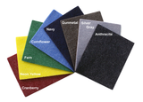 "3mm Thick Eco-Friendly Vegan Friendly Synthetic Designer Felt 11"" x 11"" Sample Sheets"