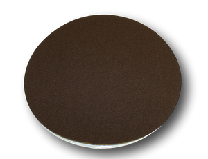 "Clearance 14 5/8"" Diameter, Adhesive Backed Friendly Felt (Stiff Felt) Circles- Brown"