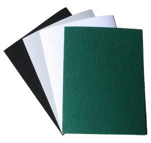 "Eco-fi™ FriendlyFelt™ Stiffened Craft Felt Sheets w/PS Adhesive Backing- 9"" x 12"" (12 pieces/pack)"