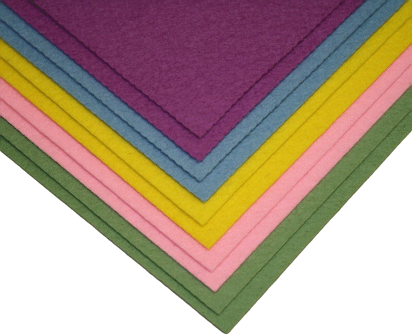 100 Wool Craft Felt Sheet Assortments 9 Quot X 12 Quot Aetna Felt