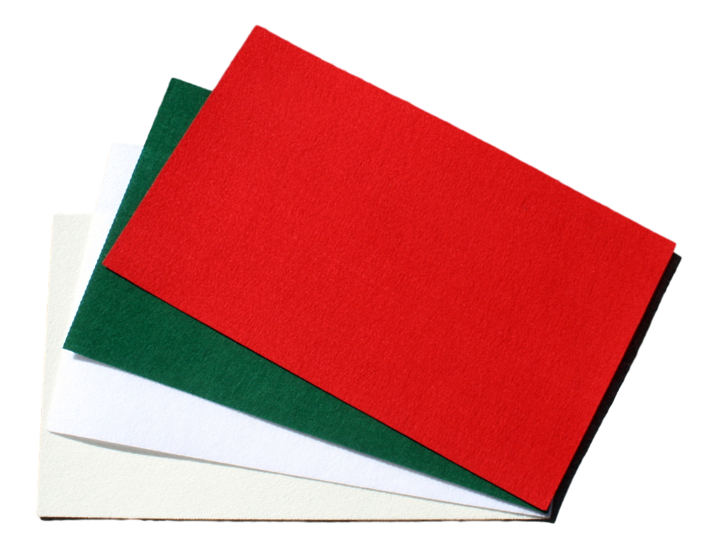 "Clearance Polyester Sized Craft Felt Sheets- 11"" x 18"""