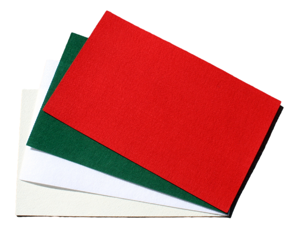 Clearance Polyester Sized Craft Felt Sheets- 11