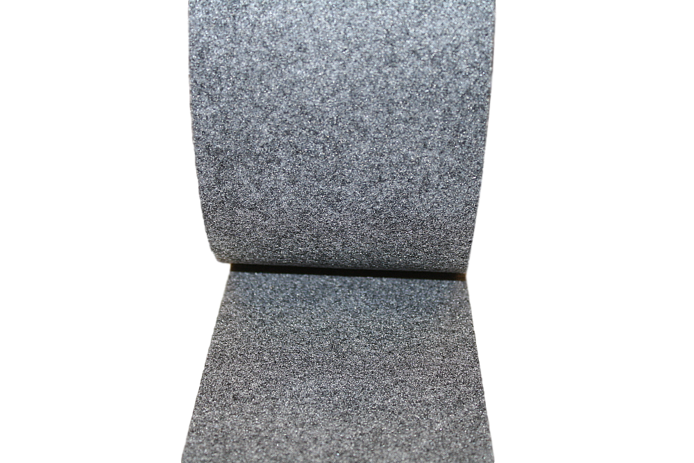 Clearance Grey Polyester Undercollar Felt (minimum purchase 5 yards)