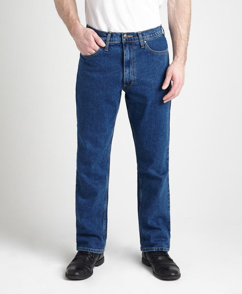 Grand River Medium Stone Stretch Denim - Waist 62 - 80