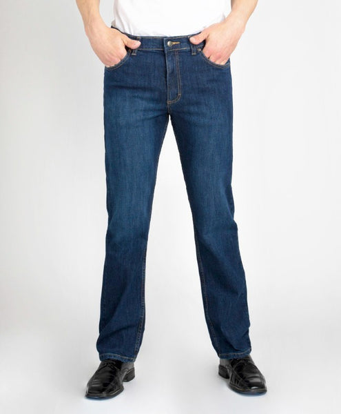 Grand River Ring Spun Stretch Traditional Fit Jeans - Waist 36 - 68