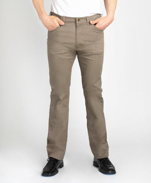 Grand River Lightweight Stretch Twill Pant - Khaki - Waist 36 - 56