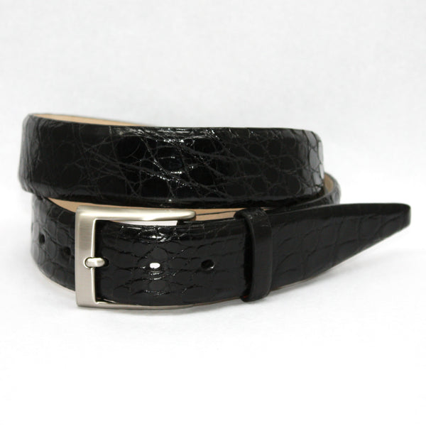 Torino Glazed South American Caiman Belt
