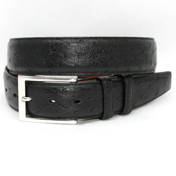 Torino South African Ostrich Quilled Belt