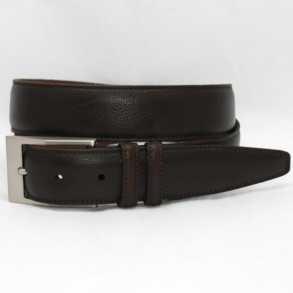 Torino Soft Deertan Glove Leather Belt