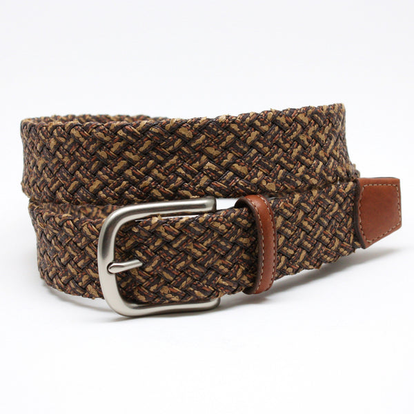 Torino Woven Tubular Italian Cotton Belt