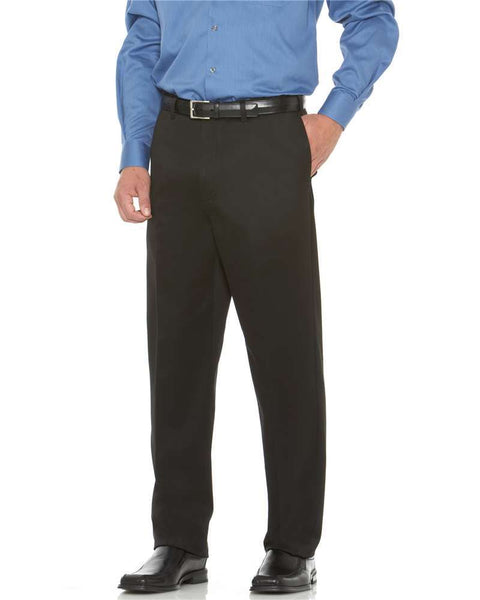 Savane Men's Flat Front Performance Chinos - BIG