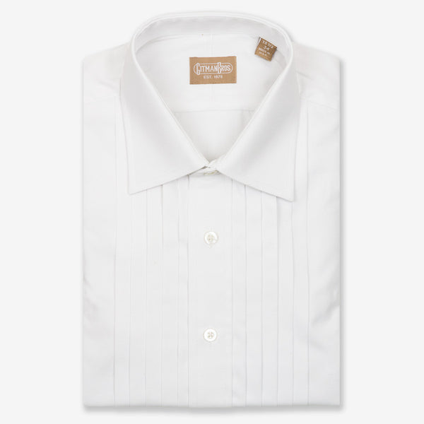 Gitman Bros. Five Pleat Tuxedo Shirt Big