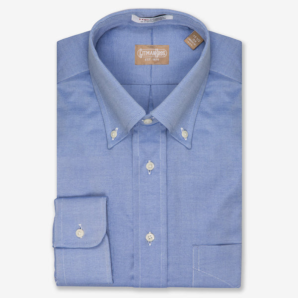 Gitman Bros. Pinpoint Button Down Big