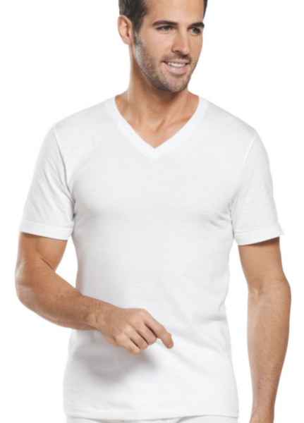 Jockey® Big Man Tag-Free V-Neck T-shirts (2-pack)