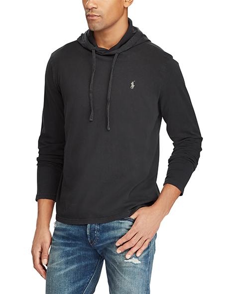 Ralph Lauren Long Sleeve Hooded T-shirt