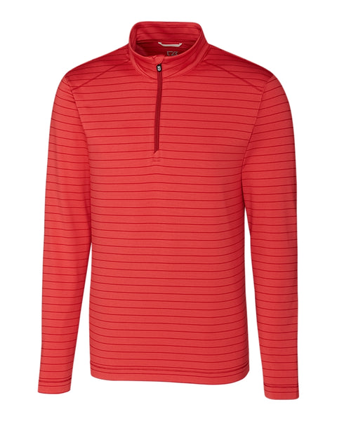 Cutter & Buck Holman Stripe Half-Zip (Long Sleeve)