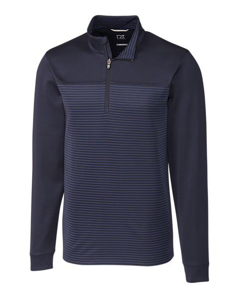 Cutter & Buck Traverse Stripe Half Zip (Long Sleeve)