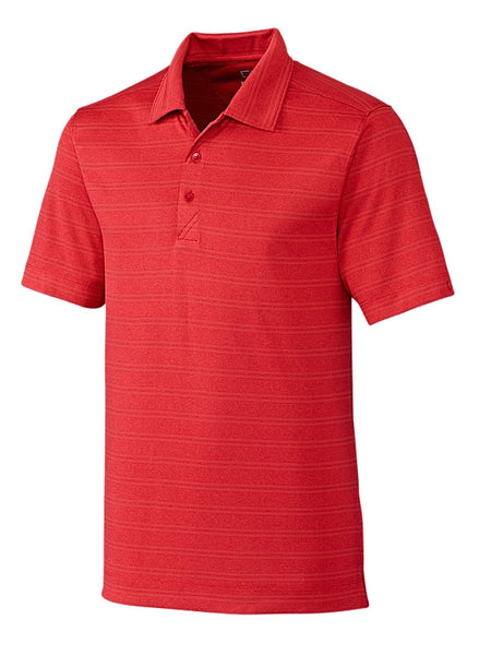Cutter & Buck DryTec Interbay Melangé Stripe Polo