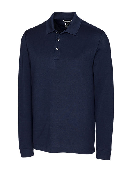 Cutter & Buck DryTec Cotton+ Advantage Polo (Long Sleeve)