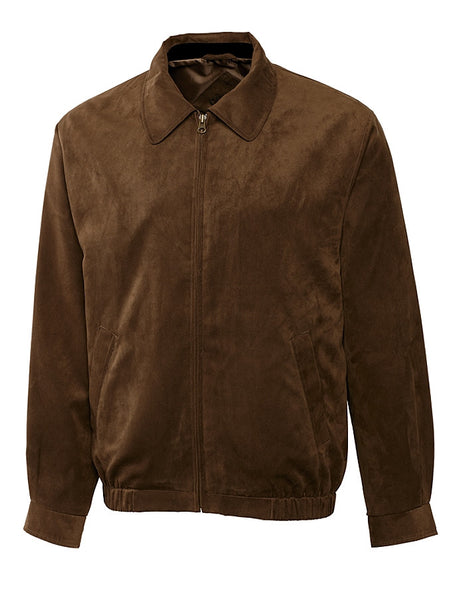 Cutter & Buck Microsuede City Bomber Jacket