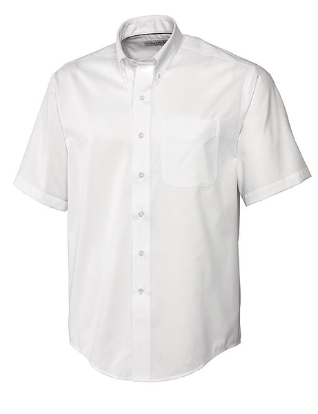 Cutter & Buck Epic Easy Care Fine Twill (Short Sleeve)