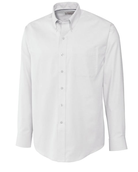 Cutter & Buck Epic Easy Care Button Down Collar Nailshead (Long Sleeve)