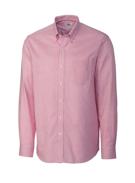Cutter & Buck Epic Easy Care Tattersall (Long Sleeve)