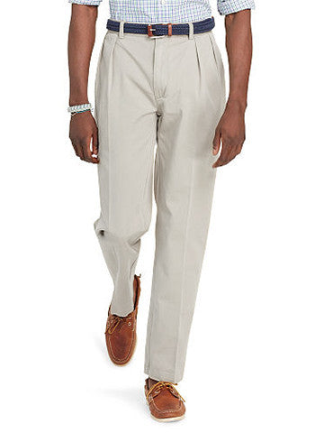 Ralph Lauren Classic Fit Pleated-Front Pants - Big