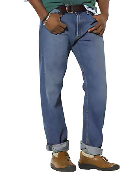 Ralph Lauren Hampton Straight-Fit Jeans - Big
