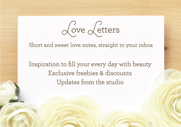 Love Letters - Short and sweet love notes, straight to your inbox