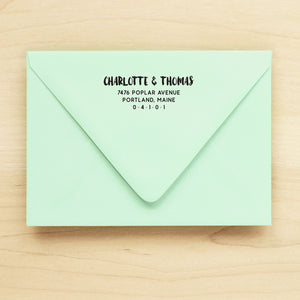 Adventure Personalized Return Address Stamp