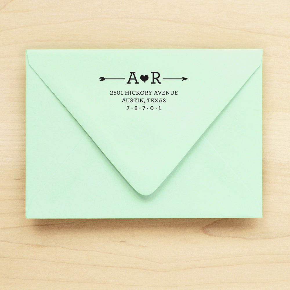 Arrow Personalized Return Address Stamp