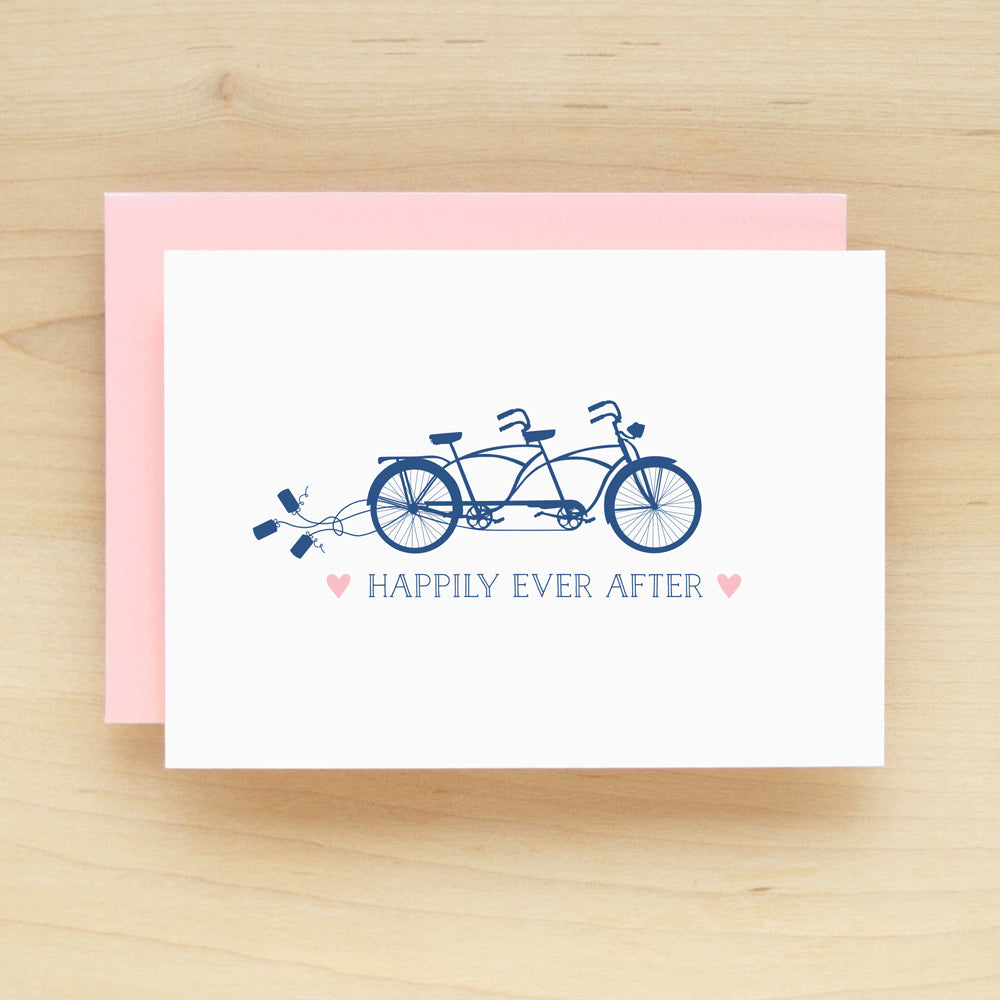 """Happily Ever After"" Tandem Greeting Card #220"