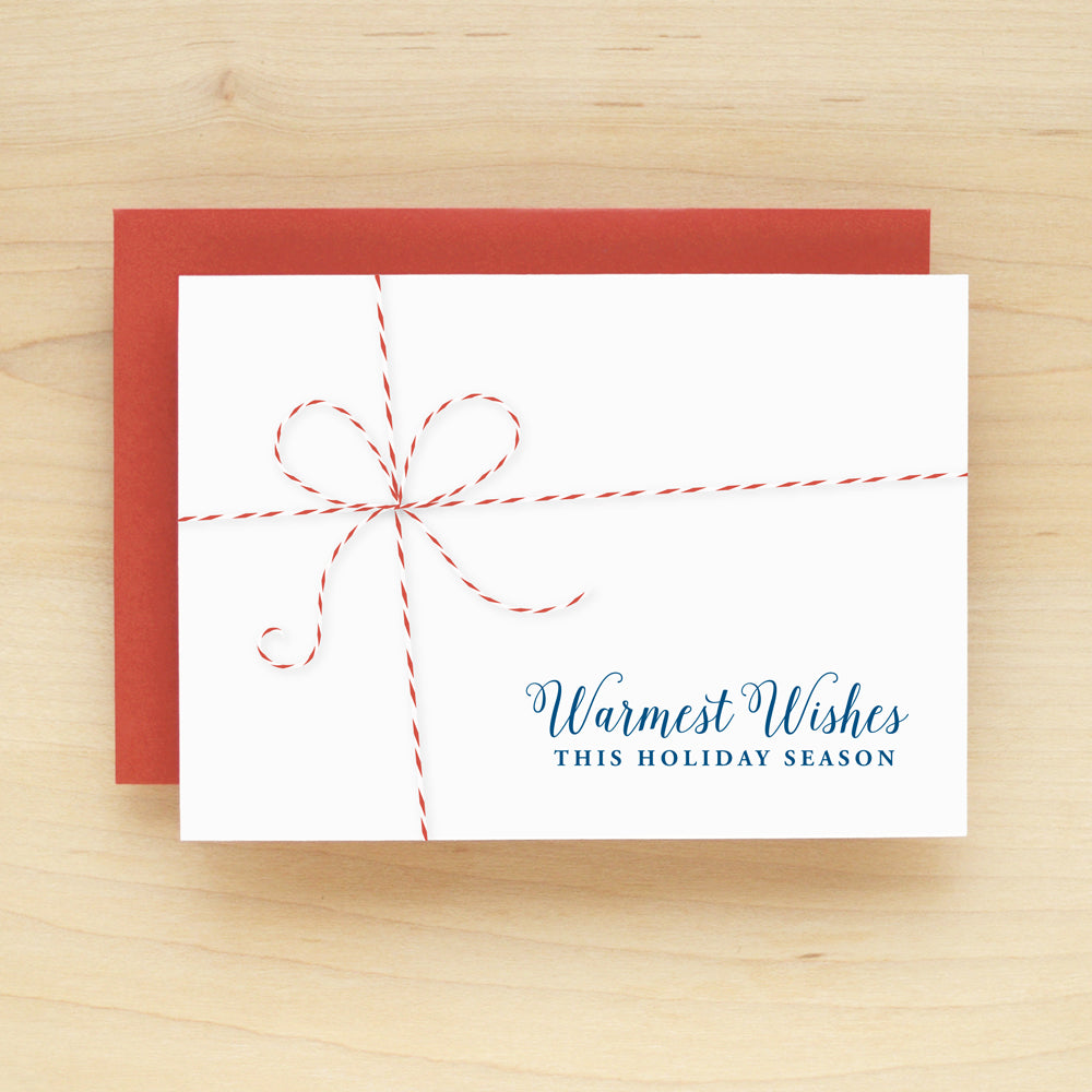 Baker's Twine Holiday Christmas Card Set