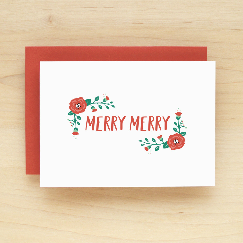 Posie Holiday Christmas Card Set