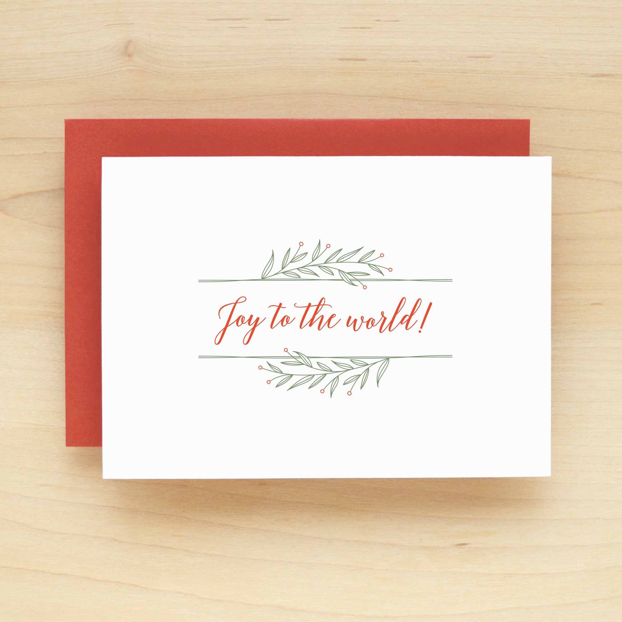 Sapling Holiday Christmas Card Set