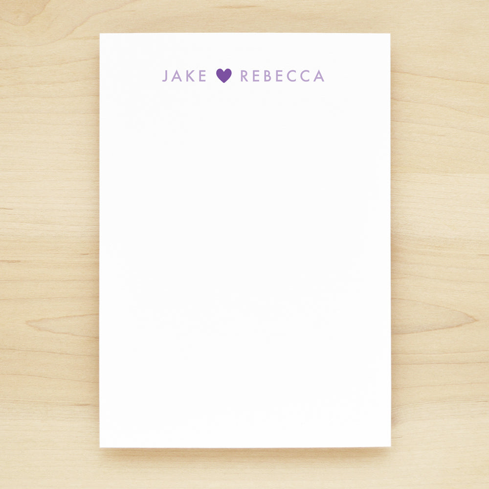 Adore Personalized Notepad
