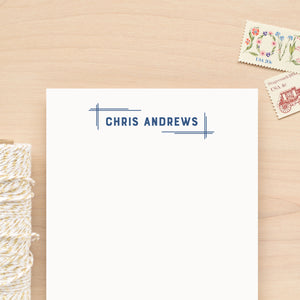 Blueprint Personalized Notepad