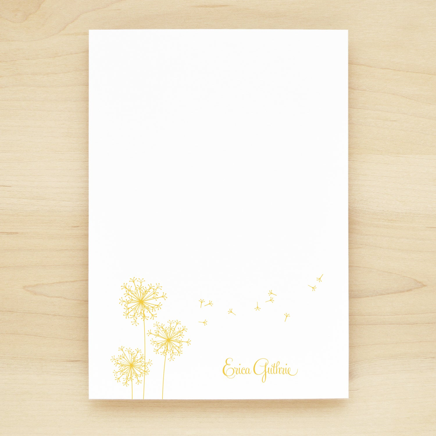 Breeze Personalized Notepad