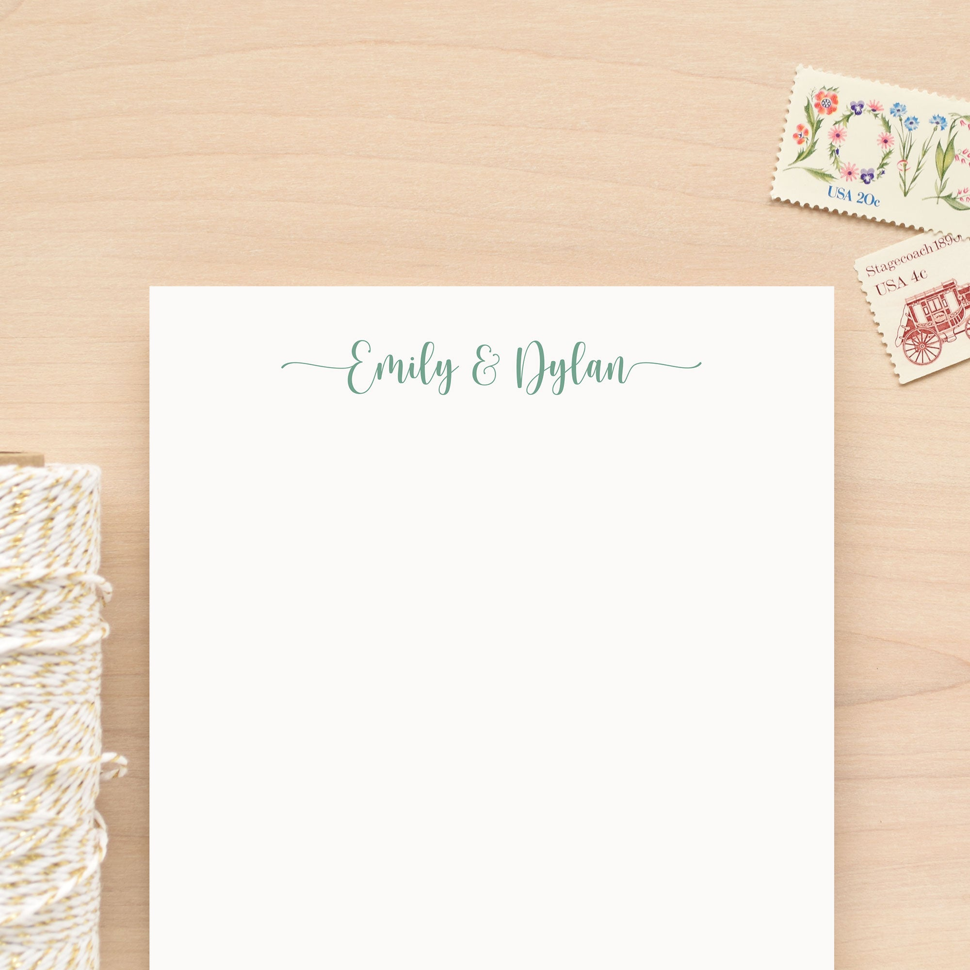 Cherish Personalized Notepad