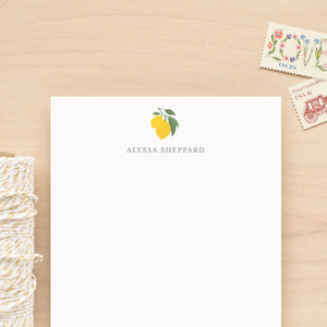Citron Personalized Notepad
