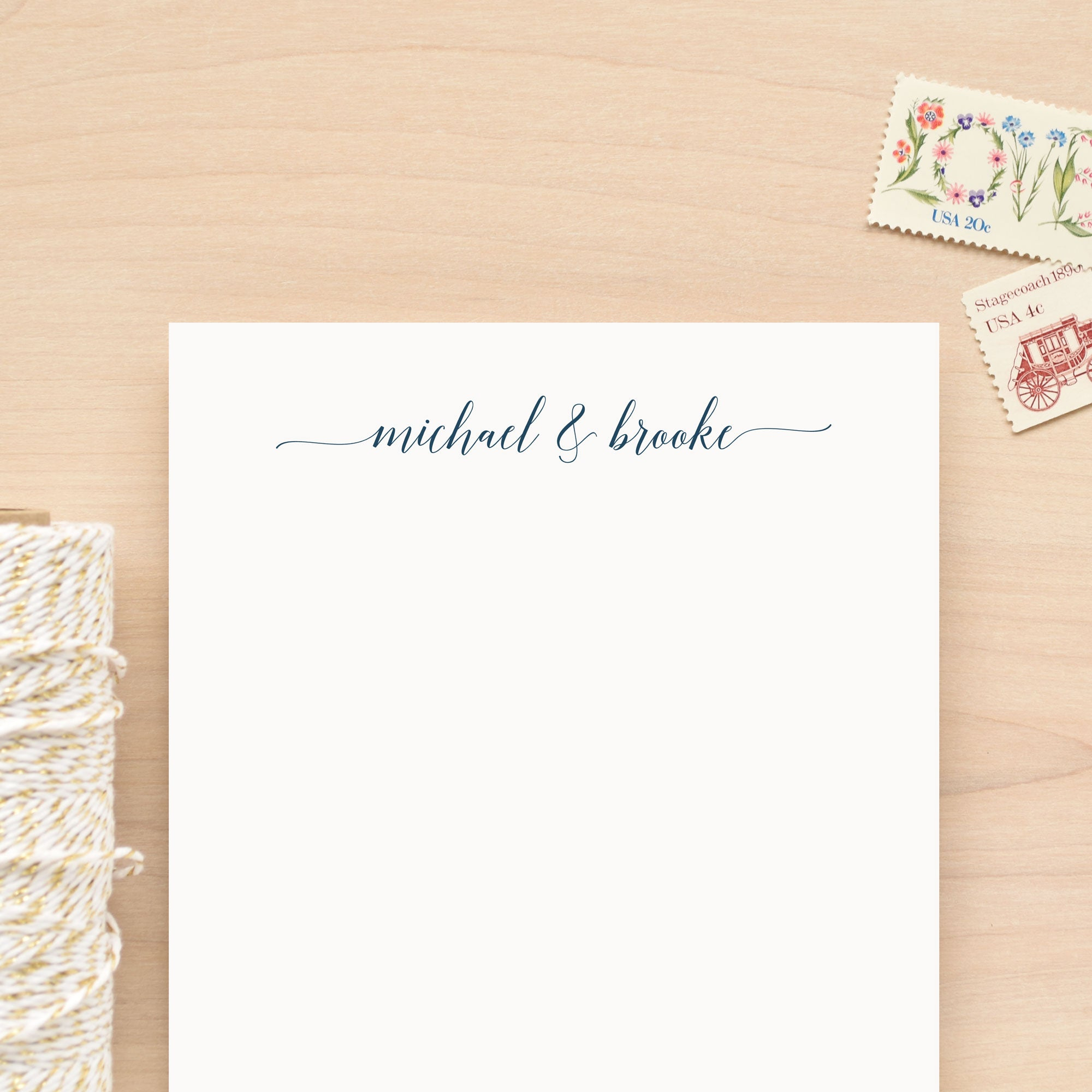 Devoted Personalized Notepad