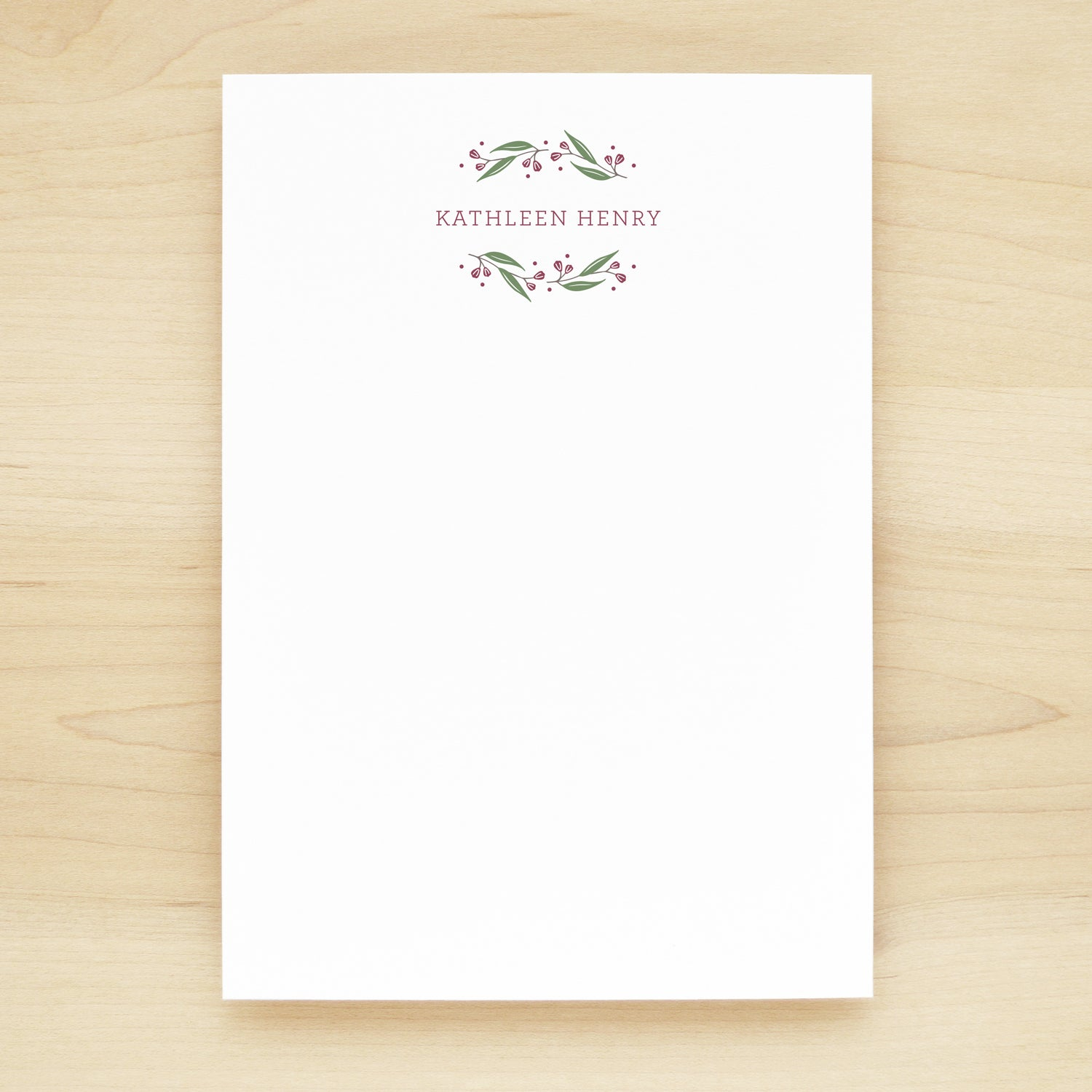 Frolic Personalized Notepad