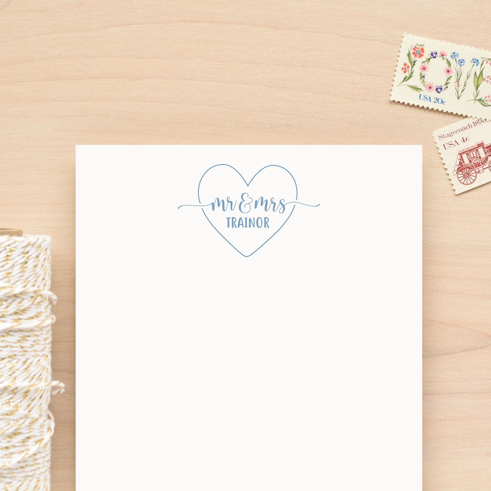 Heartfelt Personalized Notepad